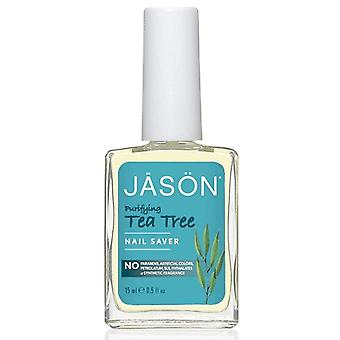 Jason natural nail saver, tea tree, 0.5 oz