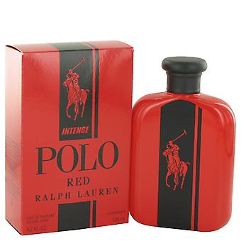 Polo Red Intense by Ralph Lauren Eau De Parfum Spray 4.2 oz / 125 ml (Men)