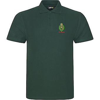 Royal Regiment Of Fusiliers Crest Veteran - Licensed British Army Embroidered RTX Polo