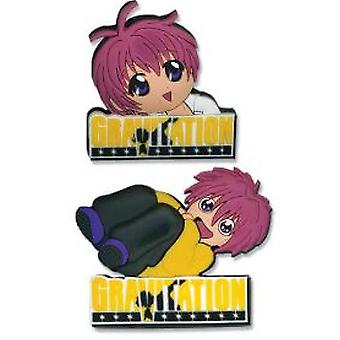 Pin Set - Gravitation - New Logo & Shuichi (Set of 2) Anime Licensed ge7378