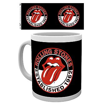 Rolling Stones Established 1962 Ceramic Coffee Mug (ge)