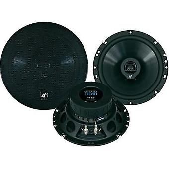 2 way coaxial flush mount speaker kit 180 W Hifonics
