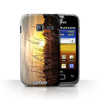 STUFF4 Case/Cover for Samsung Galaxy Y Duos/S6102/Barley Fields/Sunset Scenery