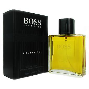 Jefe # 1 hombres de Hugo Boss 4,2 oz 125 ml EDT Spray
