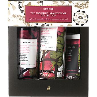 Korres Absolute Japanese Rose Collection Gift Set