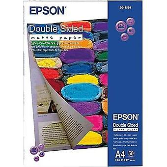 Photo paper Epson Double-Sided Matte Paper C13S041569 DIN A4 178 gm² 50 Sheet Double sided, Matt