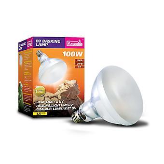 D3 Uvb brugde lampe 100 Watt