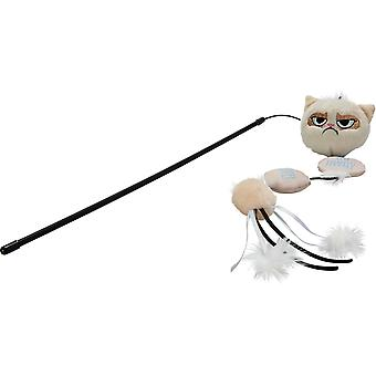 Grumpy Cat Cat Toy Annoying Plush Wand 42cm