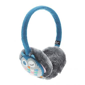 KITSOUND Earmuffs Owl HörlursMuff Blue/grey