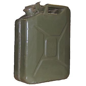 خمر يمكن جيري العسكرية 20 لتر بنزين مخزن