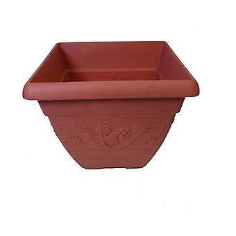 Vingården Terracotta Square Planter