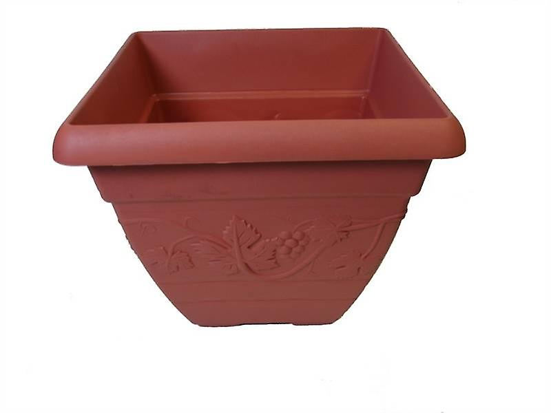 Vineyard Terracotta Square Planter
