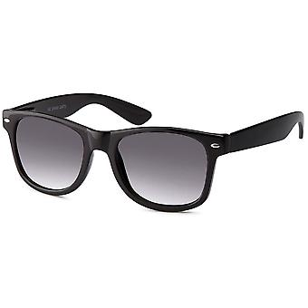 Bling plastic sunglasses - NERD VINTAGE black / bright