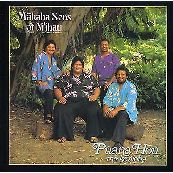 Makaha sønner af Ni'Ihau - Puana Hou mig Ke Aloha [CD] USA importerer