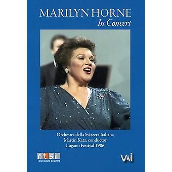 Marilyn Horne - Marilyn Horne i koncert [DVD Video] [DVD] USA importerer