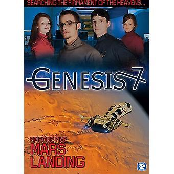 Genesis 7: Episode 5-Mars Landing [DVD] USA importerer