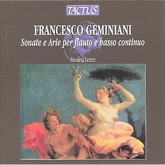 Geminiani / Festina Lente - Sonate E Arie pr. [CD] USA import