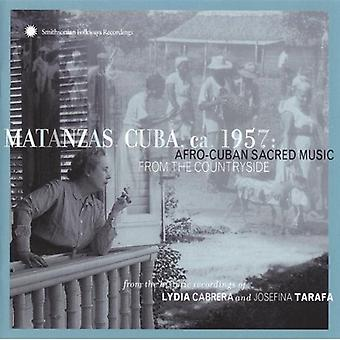 Matanzas Kuba Ca 1957-Afro - Matanzas Kuba Ca 1957-Afro Cub [CD] USA import