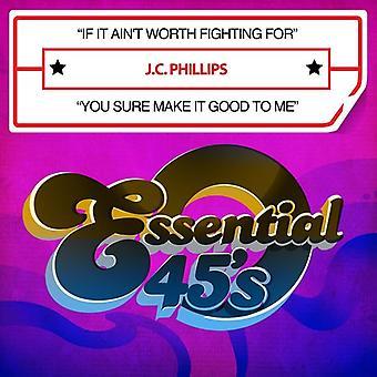 J.C. Phillips - Si no vale la pena luchar por lo hacer importación de Estados Unidos [CD]