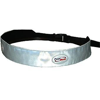 Fuel Belt Reflective Waist Hüftband Silber