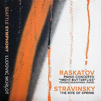 Raskatov / Stravinsky - Pno Con nat sommerfugle-Stravinsky: Rite af [CD] USA import