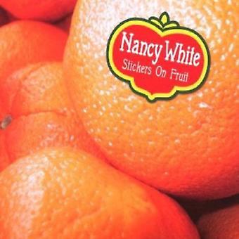 Nancy White - klistermærker på frugt [CD] USA import