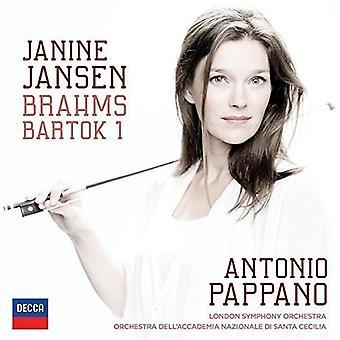 Jansen/Pappano/Lso - Brahms: Importazione USA violino Conce [CD]