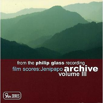 P. glas - fra the Philip Glass optagelse arkiv, Vol. 3: Jenipapo [CD] USA import