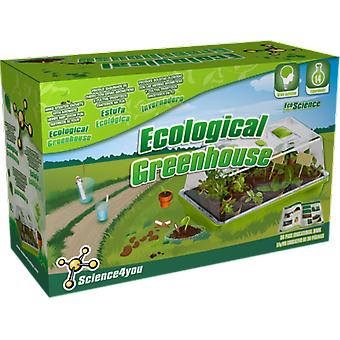 Science 4 You Ecological Greenhouse (Outdoor , Garden Toys , Gardening Toys)