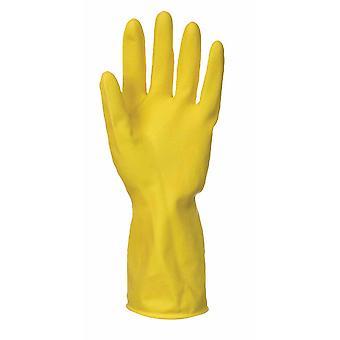 Portwest - дом работа очистители латексные перчатки (24 пары пакет)