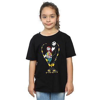Disney Girls incubo prima di Natale Jack e Sally Love t-shirt