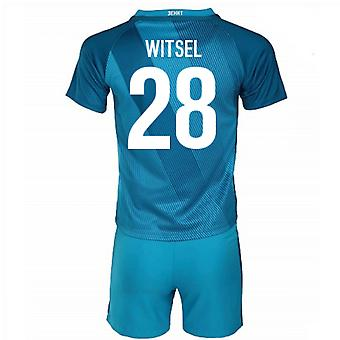 2016 / 17 Zenit St Petersburg Home Mini Kit (Witsel 28)