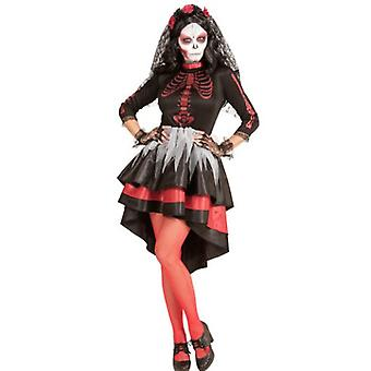 Day of the Dead Ladies Costume 1234