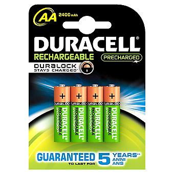 Duracell HR06-P 2400mAh Pre-charged AA (4 Pack)