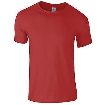 Gildan Mens manica corta Soft-stile t-shirt