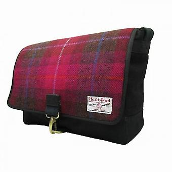 Harris Tweed Mens Authentic Premium Shoulder Strap Despatch Bag