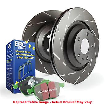 EBC Brake Kit - S2 Greentuff 2000 and USR Rotors S2KF1377 Fits:BUICK  2012 - 20