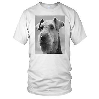 Airedale Terrier Dog Pop Art Kids T Shirt
