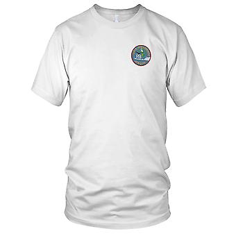 Nave di trasporto di US Navy USS Rockbridge APA-228 attacco ricamato Patch - Mens T-Shirt