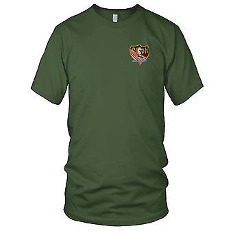RT KENTUCKY CCC Recon Team - US Army MACV-SOG SF - L Blue Vietnam War Embroidered Patch - Kids T Shirt