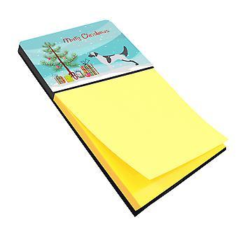 English Setter Merry Christmas Tree Sticky Note Holder