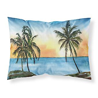 Standard di Carolines tesori 8551PILLOWCASE Palm Tree umidità wicking tessuto