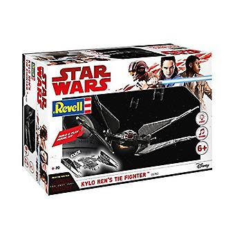 Revell Star Wars: Episode VIII bauen & Kylo Ren Tie Fighter spielen