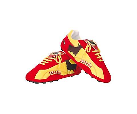 Spain Sloffies - Football Slippers (Small 3-5 Shoe)