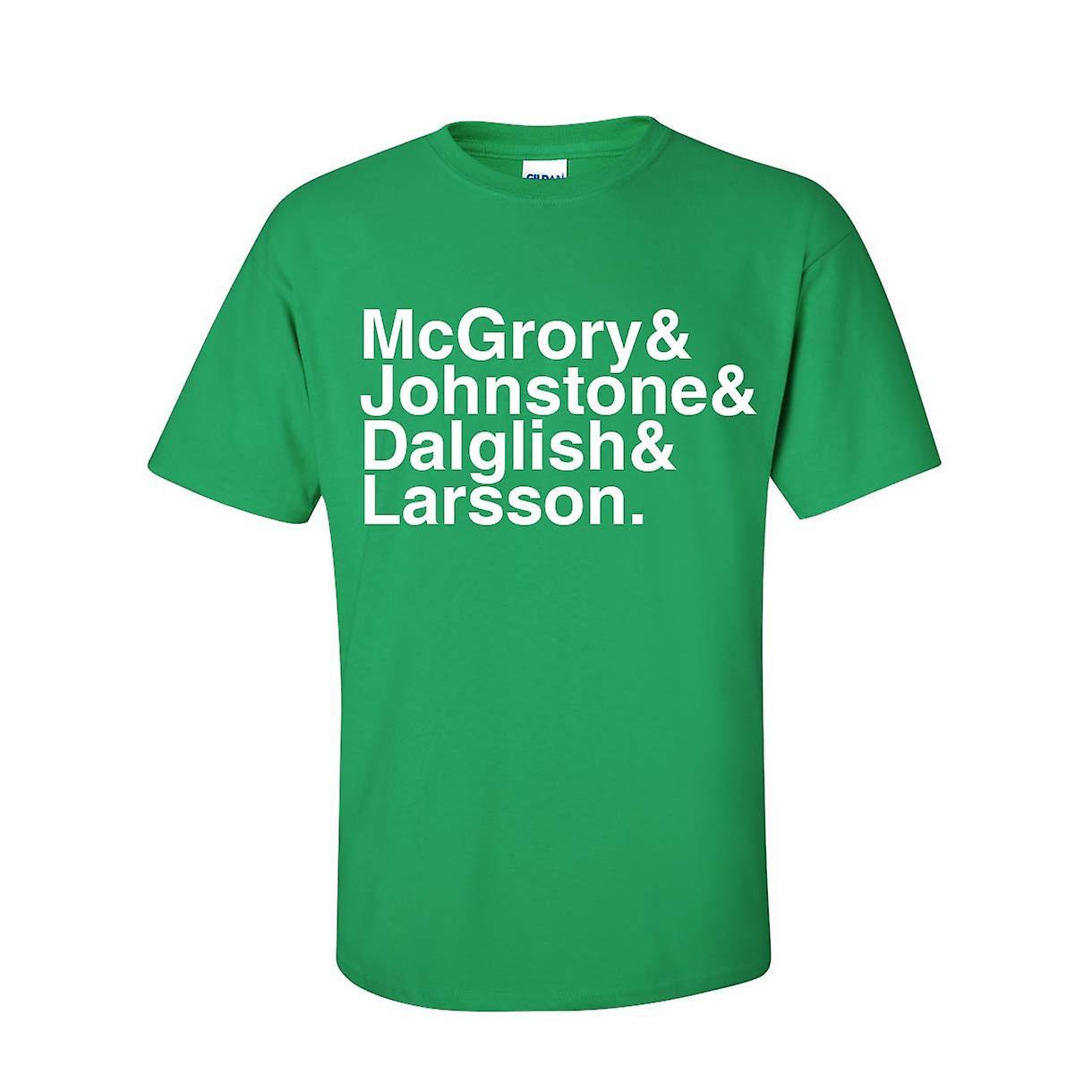 सेल्टिक फुटबॉल किंवदंतियों टी शर्ट (हरा)