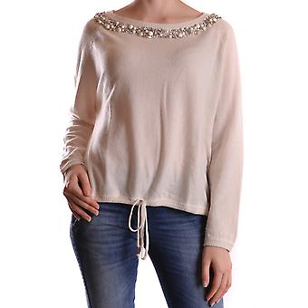 Twin set women's MCBI302072O beige Wool Sweater