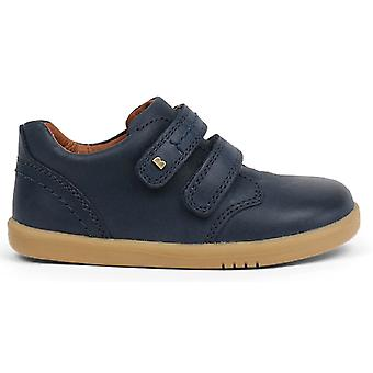Bobux I-walk Boys Port Shoes Navy