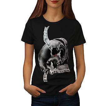 Blood Metal Death Women BlackT-shirt | Wellcoda