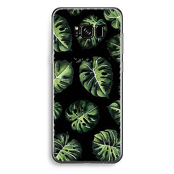 Samsung Galaxy S8 Plus caja transparente (suave) - selva geométrica