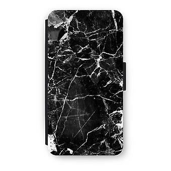 Huawei Ascend P10 Flip Case - Black Marble 2